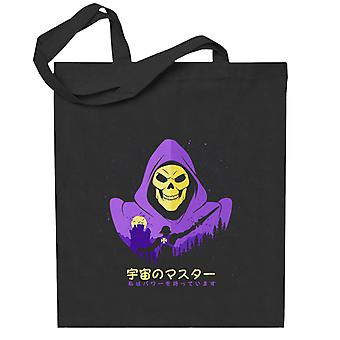 Hij Man Skeletor Landschap Totebag