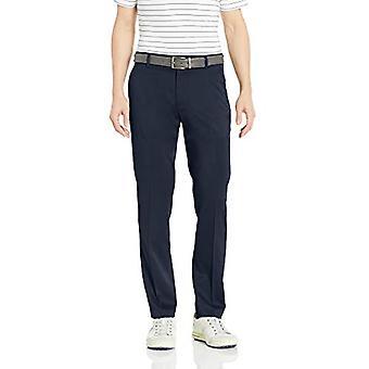 Essentials Men's Slim-Fit Stretch Golf Pant, Navy, 35W x 32L