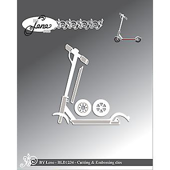 By Lene Scooters Cutting & Embossing Dies