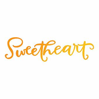 Ultimate Crafts Hotfoil Stamp Sweetheart (3 x 0.8in) (ULT158097)