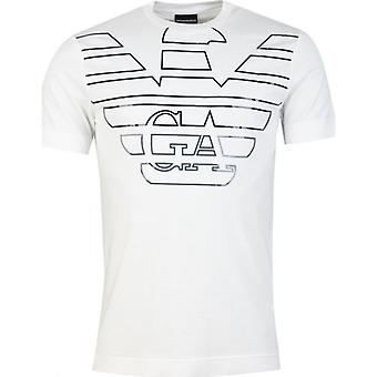 Armani Large Eagle Chest Logo T-Shirt