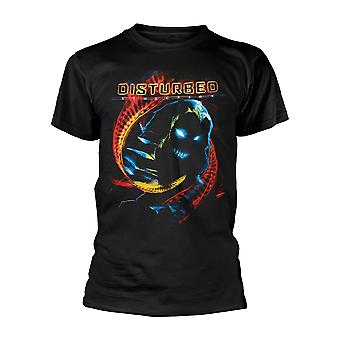 Disturbed Dna Swirl Official Tee T-Shirt Unisex