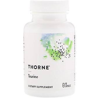 Thorne Research, Taurina, 90 Cápsulas