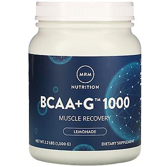 MRM, BCAA+G 1000, Lemonade, 2.2 lbs (1,000 g)