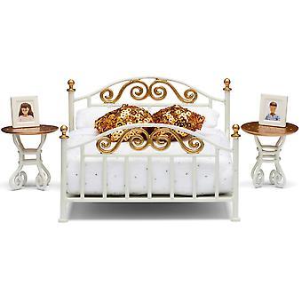 Koperen bed