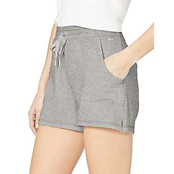 Essentials Women's Studio Terry Short, Light Grey Heather, L