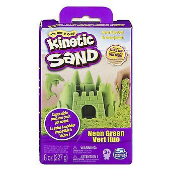 Caixa de neon kinetic sand green 8oz