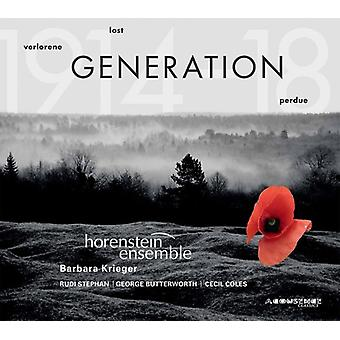 Stephan / Horenstein Ensemble - Lost Generation [CD] USA import