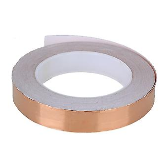 20mm x 30m Single-sided Conductive Copper Foil Tape Brown
