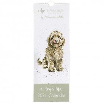 Wrendale ontwerpt een dog's leven kalender