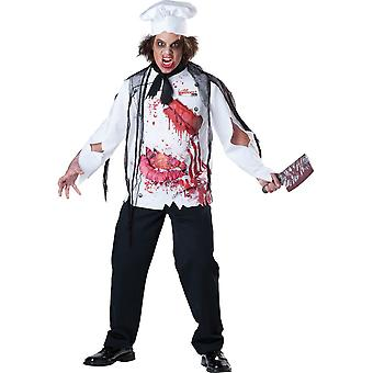 InCharacter Bloody Goremet Chef Costume Large