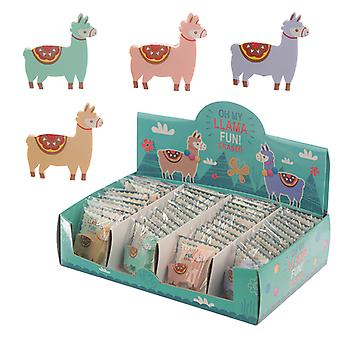 Cute Llama Design Eraser X 1 Pack