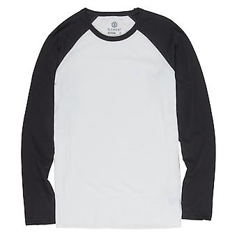Element Blunt Long Sleeve T-Shirt - Off White