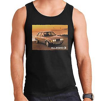 Austin Allegro 3 Brittiläinen moottoriperintö Men's Vest
