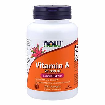 今、魚肝油から食品ビタミンA、25,000 IU、250ソフトジェル