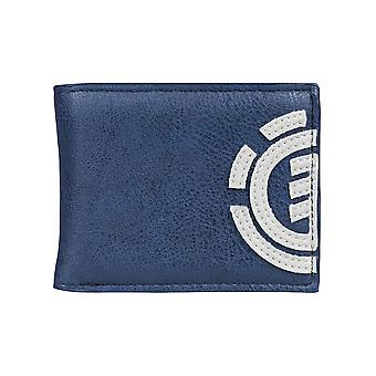 Element Bifold Wallet with CC, Note and Coin Pockets ~ Daily indigo