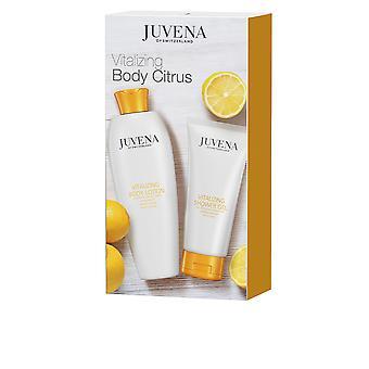 Juvena Vitalizing Body Citrus Set 2 Pz För Kvinnor