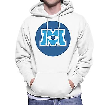 Pixar Monsters Inc University Logo Men's Hooded Sweatshirt