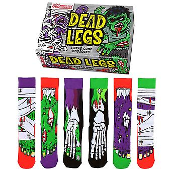 United Oddsocks Dead Legs Socks Gift Set For Men