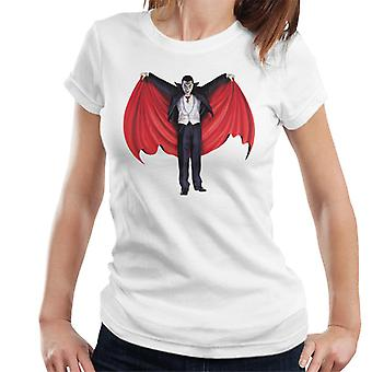 Dracula Cape Full Women's T-Shirt