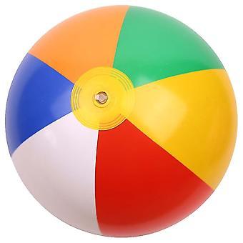 في الهواء الطلق لعبة الشاطئ النشاط، ولعب الكرة نفخ المياه بالونات قوس قزح اللون