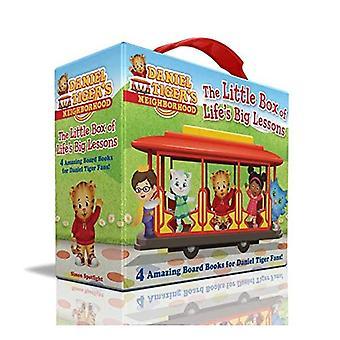 The Little Box of Life's Big Lessons: Daniel Leert delen; Vrienden helpen elkaar; Thank You Day; Daniel Plays at School (Daniel Tiger's Neighborhood) [Board book]