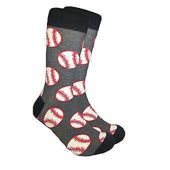 Baseball tisk Mid-tele ponožky
