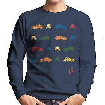 Citro?n 2CV Pop Art Pattern Men's Sweatshirt