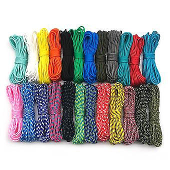 100-colors Paracord 2mm 100ft/50ft/25ft One-stand Paracorde For Jewelry Making