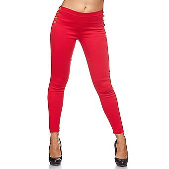 Forma de Blogger damas tela Stretch pantalones Skinny polainas Treggings empuje tubo SLIM