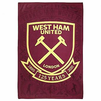 West Ham United Fleece Blanket