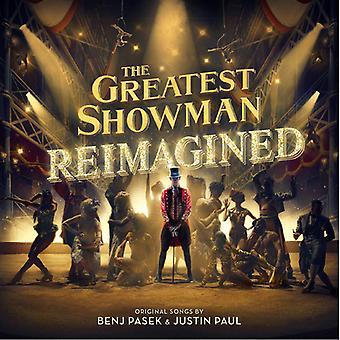 Suurin showmies: Reimagined / Original Motion - Greatest Showman: Reimagined / Original Motion [CD] Usa:n tuonti
