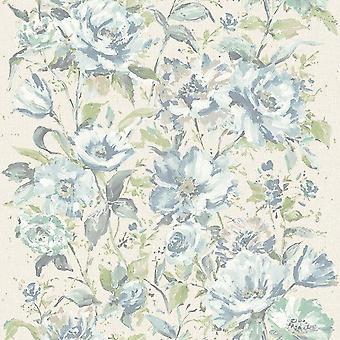 Grandeco Fiore Blue