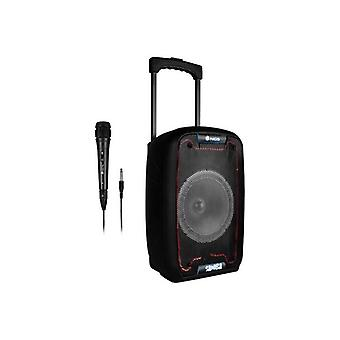 NGS WildSamba 30W Black portable bluetooth speakers