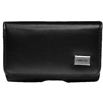 Universal Belt Case Smartphone Cover Size XL Forcell Black