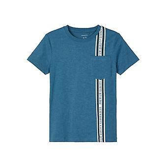 Namn-det Boys Tshirt Tiestol Real Teal