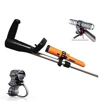 Metal Detector Flashlight, Pointer Holder / Mount For Underground Detectors