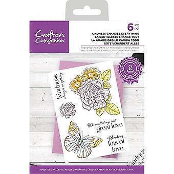 Crafter's Companion Clear Stamps Freundlichkeit ändert alles