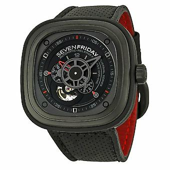 Sevenfriday P3/01 P-Series Industrial Racer Automatic Men's Watch