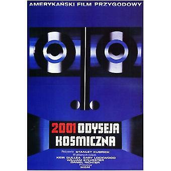 2001 eine Raum-Odyssee Filmplakat (11 x 17)