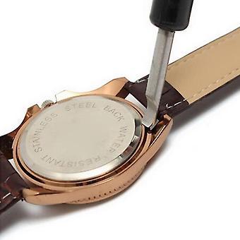 Hodinky Pouzdro otvírač nože Zadní kryt Pry Odstraňovač pro výměnu baterie Hodinky