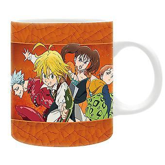 The Seven Deadly Sins Tasse  multicolor, bedruckt, 100 % Keramik, Fassungsverm÷gen ca. 300 ml.