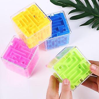3d Mini Nopeus Kuutio Labyrintti Magic Puzzle Peli Rullapallo Aivot Learning