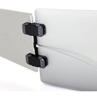 Le stand d'ordinateur portable à écran triple pliable Multi Screen