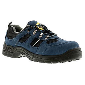 Tradesafe Shift Mens Safety Shoes Navy UK Size