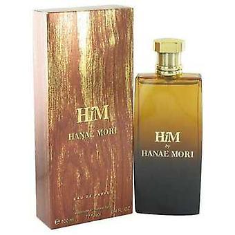 Hanae Mori Him By Hanae Mori Eau De Parfum Spray 3.4 Oz (men) V728-500064