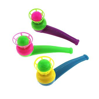 Enfants blow pipe & balls jouet