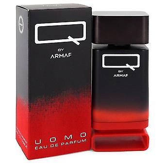 Q Uomo Eau De Parfum Spray بواسطة Armaf 3.4 أوقية Eau De Parfum Spray