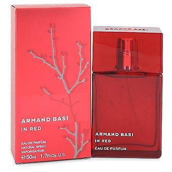 Armand Basi En Rojo Eau De Parfum Spray por Armand Basi 1.7 oz Eau De Parfum Spray