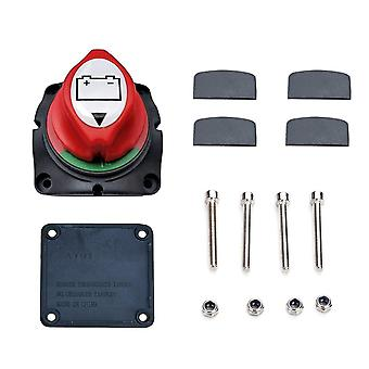 Master cell switch kit with screws power cut off current isolator disconnect for cars trucks rv campers boats